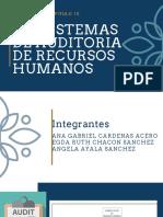 SUBSISTEMA DE AUDITORIA DE RECURSOS HUMANOS
