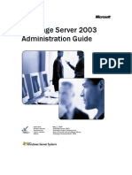Exchange Server 2003 Administration Guide