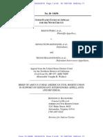 Brief of Amicus Curiae American Civil Rights Union in Support of Defendant-Intervenors-Appellants