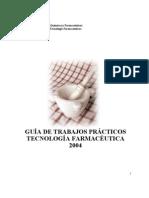 GUIA DE TRABAJOS PRACTICOS TECNOLOGIA FARMACEUTICA