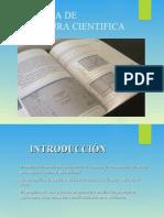 BUSQUEDA DE LITERATURA CIENTIFICA