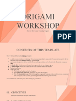 Origami Workshop by Slidesgo