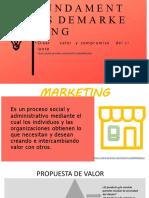 Diapositivas marketing Iniciales TEMA
