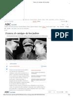 Franco, el «amigo» de los judíos