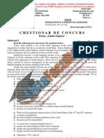 ListaFacultati.ro Subiecte Admitere Academia Tehnica Militara Bucuresti Engleza 2006