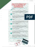 MODELO DE REQUISITOS PARA LA GESTIÓN DE DOCUMENTOS ELECTRÓNICOS - Infografía