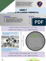 COMPAÑÍA DE LLANTAS Y FRENOS S.A.