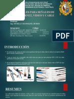 FINAL CABLES DE INTERNET,VIDEO,CABLE