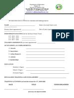 Evaluation-Worksheet