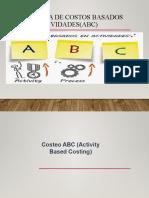 Costo Basado en Actividades (ABC)