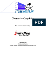 307960-computer-graphics-by-sankarsan-sahoo