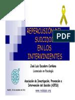 Repercusio n Del Suicidio en Los Supervivientes