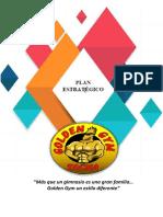 Plan Estratégico Gimnasio Golden Gym (1)