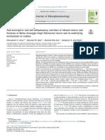 ariyo2020 Anti-nociceptive and anti-inflammatory activities of ethanol extract and