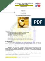 ORGANIZATION AND MANAGEMENT MODULE 3