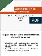 Vías de Administración de Fármacos2020