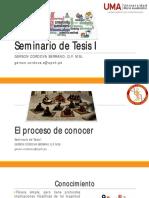 U1S2 - El proceso de conocer (1)
