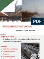 MC Sesión 07 2020-02 Materiales Metalicos.pdf