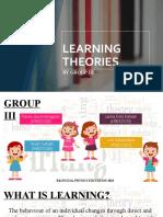 Learning theories_Group III