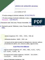 EQUILIBRIO QUIMICO. Reacciones acido base 1