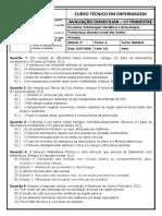AVALIAÇÃO 1ºTRI  obstetrícia 2020 A