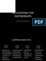 Financial Acccounting 1-1 Partnership