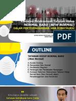 Materi Pak Putut_New Normal Dalam Pengelenggaraan Jakon by Bu Elis