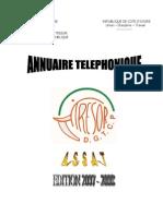 ANNUAIRE 2007-2008 DGTCP