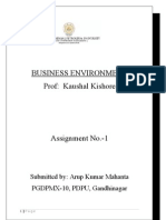 Assignment-1  BE Arup Mahanta (for prof kaushal kishore)