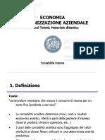 2. Slide di contabilità interna