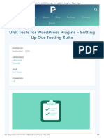 Unit Tests for WordPress Plugins - Setting Up Our Testing Suite - Pippins Plugins