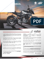 Owner's manual Pulsar NS160