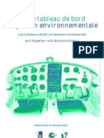 TableauDeBordDeGestionEnvironnementale-Indicateurs