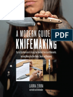 A Modern Guide to Knifemaking Step-by-Step Instruction for Forging Your Own Knife from Expert Bladesmiths, Including Making Your Own Handle, Sheath and Sharpening by Laura Zerra (z-lib.org)
