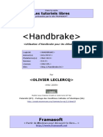 Tutoriel Handbrake