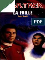 Star Trek 34 - La faille - Peter David.epub