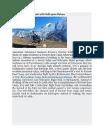 Top Heli Trek in Nepal