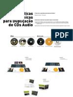 Caracteristicas técnicas para duplicação de CD