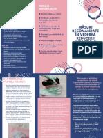 Măsuri recomandate în vederea reducerii impactului pandemiei și virusului covid-19-1