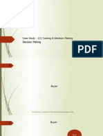 Case Study - LCL Costing & Decision Making - Analysis