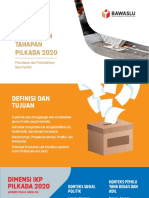 PEMETAAN KERAWANAN PILKADA 2020 (LAUNCHING)