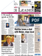 The Dexter Leader Front Page Jan. 27, 2011