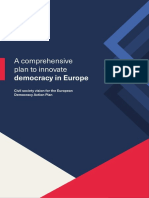 A Civil Society Vision for the European Democracy Action Plan - Input Paper