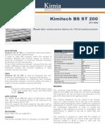 9. Tehnički list_KIMITECH BS ST 200