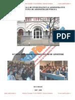 ListaFacultati.ro Subiecte Admitere SNSPA 2007 2008 2009