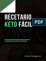 12 Recetas Keto