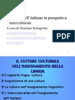 9-IL FATTORE CULTURALE NELLINSEGNAMENTO DELLA LINGUA