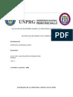 PANORAMA DE LA INDUSTRIA CÁRNICA EN EL PERÚ  .docx