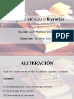 Figuras retóricas o literarias