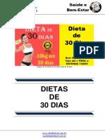Manual Dieta de 30 Dias